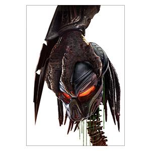 Хардпостер (на твёрдой основе) Predator. Размер: 35 х 50 см